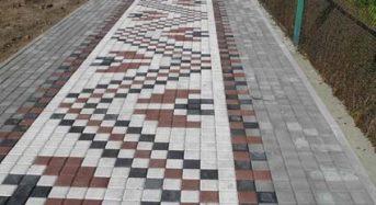В Переяславі-Хмельницькому все більше тротуарів-вишиванок