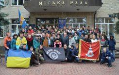 У Переяславі-Хмельницькому зустріли учасників потягу єднання України «Труханівська Січ»
