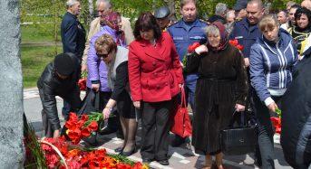 В Переяславі-Хмельницькому відбувся мітинг-реквієм «Чорнобиль – чорний біль нашої землі»