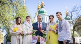 Великоднє привітання Президента України Петра Порошенка