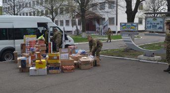 Переяславщина відправила в зону АТО допомогу військовим Київщини
