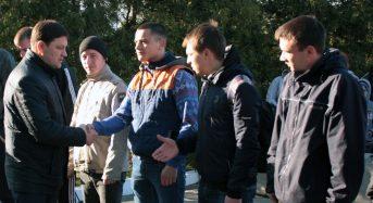 Восьмеро переяславців поповнять лави Українського війська