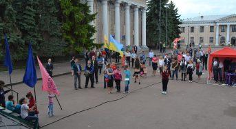 Представники протестантських церков і релігійних організацій Переяслава-Хмельницького молилися за Україну в День пам'яті жертв політичних репресій