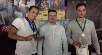 Спортсмени з Переяслава-Хмельницького здобули медалі на змаганнях з армліфтингу й армрестлінгу