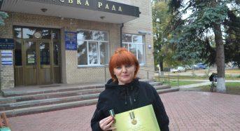 Волонтера Переяславщини нагородив Президент державною відзнакою