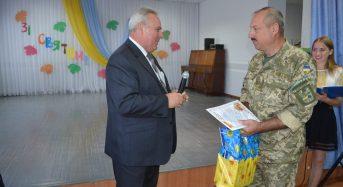 В Переяславі-Хмельницькому у військовому ліцеї вітали педагогів з Днем працівника освіти
