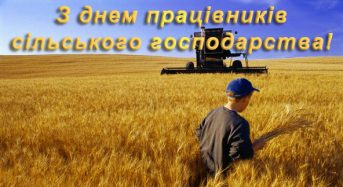 Привітання органів міського самоврядування міста Переяслава-Хмельницького з нагоди Дня працівників сільського господарства
