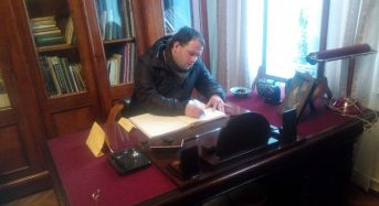 До університету завітав викладач із Польщі Матеуш Камьонка