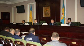Спільне засідання представників міжвідомчих оперативних штабів Київської області та міста Києва з координації дій під час погіршення погодних умов