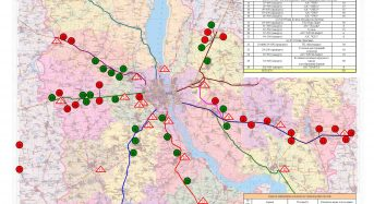 Київська область: визначено місця для відстою транспортних засобів під час ускладнення погодних умов