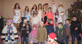 У   клубі мікрорайону Борисівка відбувся  захід для дітей та молоді «Новорічне Диво»