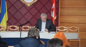 Перший заступник міського голови Григорій Карнаух провів щотижневу апаратну нараду