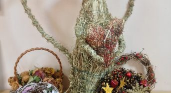 Відкрилася виставка студентів педагогічного факультету «Різдвяні мотиви» з використанням техніки фітодизайн