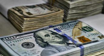 Партію доларів США в еквіваленті на суму більше 3,5 млн. грн. затримано у пункті пропуску «Бориспіль»