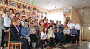 В Будинку освіти відбулася зустріч в рамках проекту «Служба медико-соціальної допомоги на дому, організація зустрічей та дозвілля жертв націонал-соціалізму у Переяславі-Хмельницькому»