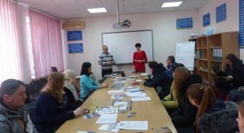 На Київщині в центрі зайнятості проведено міні-ярмарок вакансій для безробітних за участю товариства «Щасливі люди України»