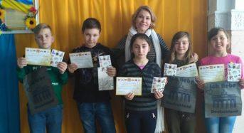 """Учні міської школи отримали нагороди на Всеукраїнському конкурсi знавцiв німецької мови """"Орлятко"""""""