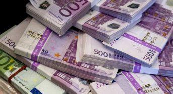У пункті пропуску «Бориспіль» затримано досить крупну партію валюти – 90 тисяч євро