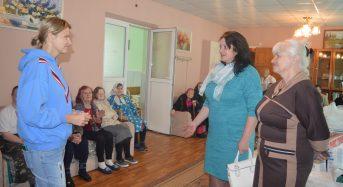 На Київщині для паціентів геріатричного відділення благодійники оновили постільну білизну