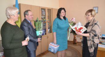 На Київщині привітали успішного директора школи із ювілеєм