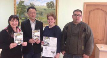 До університету на Київщині завітав вчений з Японії з презентацією книги