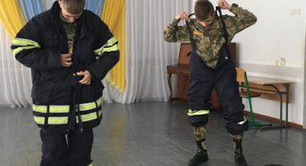 Вихованці ліцею «Патріот» спробували себе у ролі рятувальників