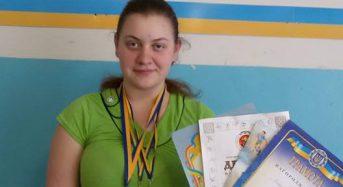 В Переяславі-Хмельницькому урочисто вшанували призерку чемпіонату України з сумо