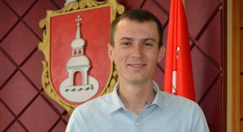 Привітання депутату міської ради Гриценку Артему Миколайовичу в ювілейний День народження від місцевого самоврядування