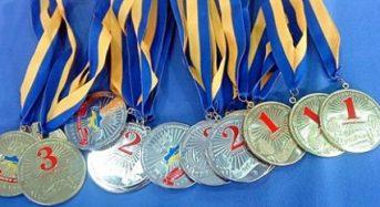 Спортсмени з міста Переяслава-Хмельницького вибороли 7 золотих медалей на обласній Спартакіаді «Повір у себе»