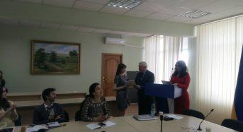 В рамках ІІ туру Всеукраїнської студентської олімпіади зі спеціальності «Психологія» відбулася зустріч із Іваном Бехом