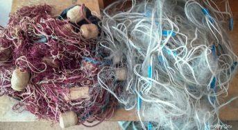 На острові Канівського водосховища поліція виявила браконьєрські сітки