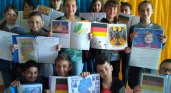 """Школярі міської школи на протязі всього навчального року створювали на уроках німецької мови свої власні проекти під назвою """"Deutschland"""""""