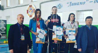 Студентка університету з Київщини стала чемпіонкою України серед юніорів та срібною призеркою Кубку України серед дорослих з гирьового спорту