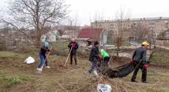 В Переяславі-Хмельницькому відбулося прибирання фрагменту міського оборонного валу давньоруської доби