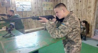 На Київщині командир військової частини започаткував для ліцеїстів змагання «Влучний стрілець»