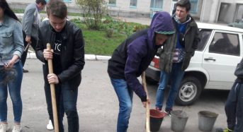 В Переяслав-Хмельницькому ЦПТО – прекрасна традиція збиратися на толоку і гуртом наводити лад у закладі