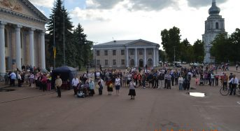 В Переяславі відбулися молебні за жертвами політичних репресій, неньку-Україну і традиційні цінності сім'ї (Фоторепортаж)