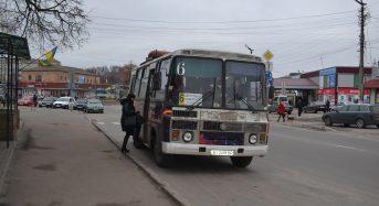 Розклад руху автобусів по місту Переяславу-Хмельницькому 9 травня 2018 року