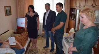 В Переяслав-Хмельницькому ветеранів Другої світової війни традиційно привітали із святом працівники міської ради та соціальних служб