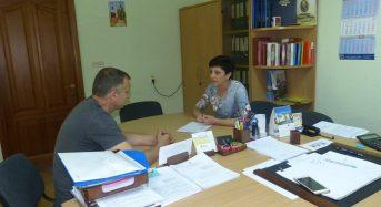 Директор центру зайнятості зустрілася з керівником ТОВ «Вудекспо»