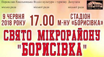 Запрошуємо на свято мікрорайону Борисівка