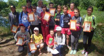 Туристські змагання до Дня захисту дітей