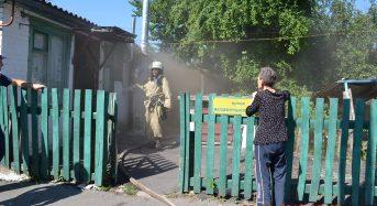 У будинку по вул. Магдебурзького права сталася пожежа