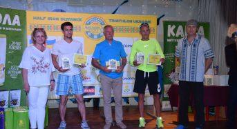 В Переяслав-Хмельницькому відбулось нагородження переможців та призерів дванадцятих змагань з тріатлону «Слов'янська Хвиля-2018»