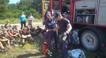 "Рятувальники провели майстер-клас для ""соколят"""