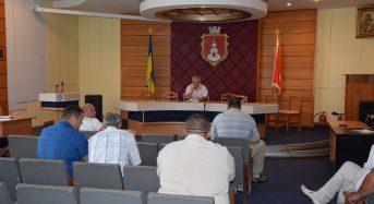 Перший заступник міського голови провів нараду із керівниками комунальних підприємств