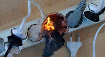 Будьте обережні з електроприладами!