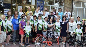 У місті пройшов велопробіг заради здоров'я маленьких переяславських крихіток