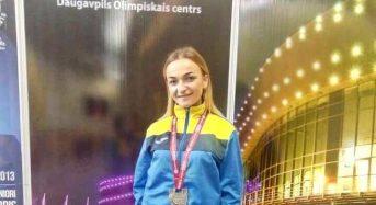На Чемпіонаті світу з гирьового спорту студентка університету Оксана Стельмах виборола срібло