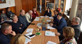 Сьогодні відбулося засідання круглого столу з питань  обговорення перспективного плану розвитку Переяславщини на 2019-2021 роки